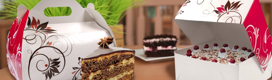 Torten Kuchen Verpackungen