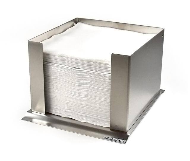 Metall Serviettenspender Serviettenhalter in zwei Farben Servietten Halter