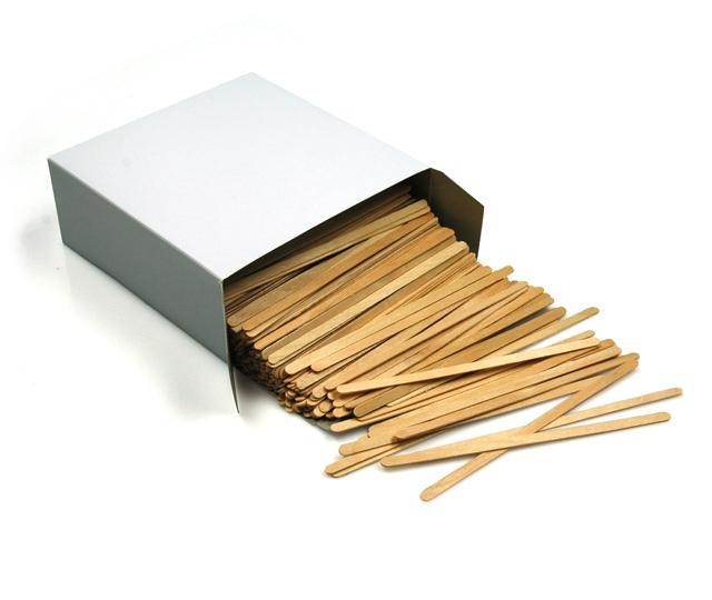 140 mm für Kaffeebecher biologisch abbaubar Rührstäbchen Holz 1.000 Stück