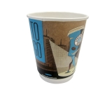 Doppelwandbecher / Coffee-to-go Becher, bedruckt, 9oz /...