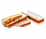 Hot-Dog-Tray FEEL GOOD bedruckt
