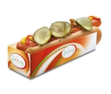 Hot-Dog-Tray Fresh & Tasty bedruckt