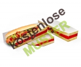 Musterartikel Hot-Dog-Tray versch. Druckmotive