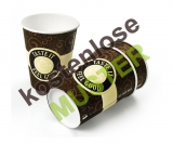 Musterartikel 200 ml Kaffeebecher Coffee-To-Go Becher FEEL GOOD, bedruckt