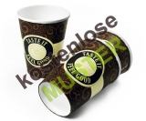 Musterartikel 300 ml Kaffeebecher Coffee-To-Go Becher FEEL GOOD, bedruckt