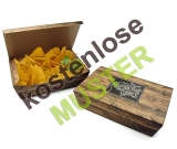 Musterartikel Snack-Box Enjoy your Meal mit Klappdeckel...