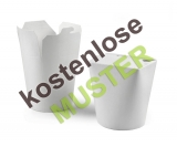 Musterartikel Food-Boxen Smart-Serve Pappe weiss...