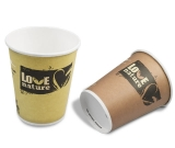 Bio Kaffeebecher / Pappbecher LOVE NATURE 12oz / 300ml
